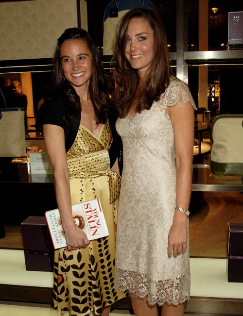 Pippa y Catherine Middleton