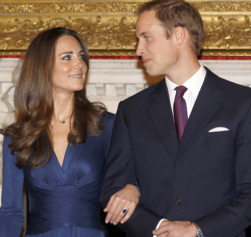 Guillermo de Inglaterra y Catherine Middleton